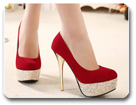 vign1_2015-Fashion-Woman-Pumps-Sexy-High-Heels-Platform-Shoes-Flock-Red-Sequins-Gold-Heel-Wedding-Black_all